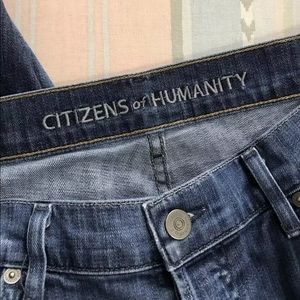 Citizens Of Humanity Jeans - Citizens Of Humanity Womens Size 28 Skylar Crop Bf